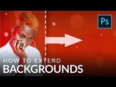 Create your own banners and advertisements in Photoshop! Learn how to extend any background, recreating the colors, light, and texture of the original. Photoshop Youtube, Photoshop Tips, Photoshop Elements, Lightroom, Different Colors Of Red, Gaussian Blur, Crop Tool, Change Background, Simple Backgrounds