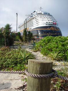Castaway Cay on The Disney Dream