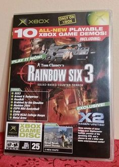 XBOX MAGAZINE DEMO VIDEO GAME DISC #25- 10 PLAYABLE DEMO GAMES.