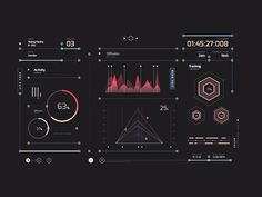 One of multiple data screens I had fun designing for the latest Epson commercial starring Lewis Hamilton.  Check out the case study with more ui and data designs http://www.charakterny.pl/work/epso...