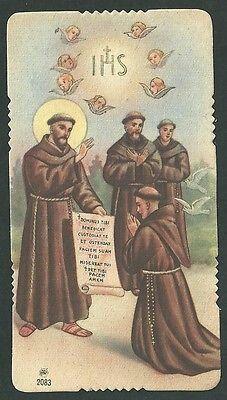 Franciscan order Francis Of Assisi, St Francis, Religious Images, San Francisco, Vintage Cards, Catholic, Saints, Religion, Window Panels