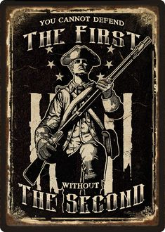 Second amendment and the right to bear arms. You cannot defend the first without the second amendment. We the people. Patriotic Images, Patriotic Quotes, Patriotic Tattoos, Army Infantry, Molon Labe, Dont Tread On Me, 2nd Amendment, Badass Quotes, God Bless America