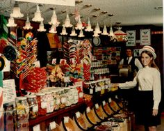 The candy store at Farrell& Ice Cream Parlour in the & - The candy store at Farrell& Ice Cream Parlour in the & - Farrell's Ice Cream, Ice Cream Parlor, Cream Candy, Those Were The Days, The Good Old Days, Best Memories, Childhood Memories, 1970s Childhood, School Memories