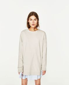 Image 5 of EXTRA LARGE SWEATSHIRT from Zara