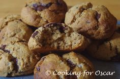 Cooking For Oscar: Carob / Choc Chip Rye Cookies