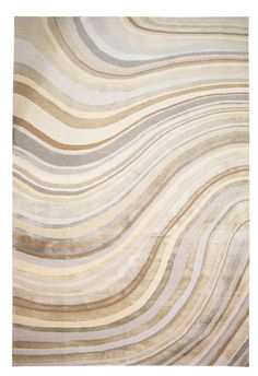 Pale Swirl by Paul Smith | Silk Contemporary hand-knotted designer rugs pricey!