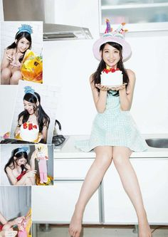 """HKT48 Natsumi Matsuoka """"10dai Saigo no Natsu"""" on Manga Action Magazine"""