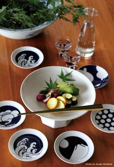 Japanese pickled vegetables, Tsukemono 漬物. NOTE use of compote.