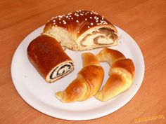 Super cesto na závin a iné sladké dobroty :-) Pretzel Bites, French Toast, Cooking Recipes, Bread, Breakfast, Ethnic Recipes, Food, Hampers, Morning Coffee