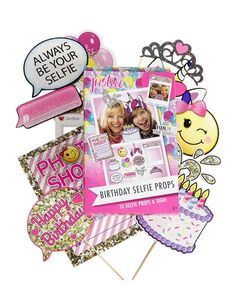 Girls' Birthday Party Decorations & Themes   Justice   Stuff I ...