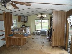 Complete Mobile Home Remodel Entire Kitchen (links To A DIY  Community/message Board)