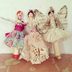 Peg Doll Princess Kit by lobsterandswan on Etsy