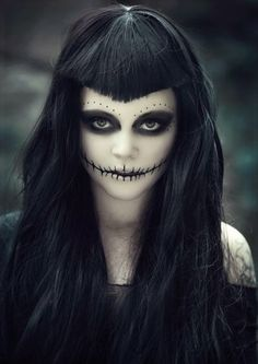 Crying Angel with facial pain | Muerta: Éste también es uno de mis maquillajes favoritos. Ojos de ...