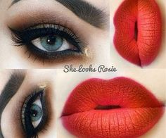Normally I think lip liner looks awful but this person knew what they were… Love Makeup, Makeup Tips, Makeup Looks, Hair Makeup, Glam Makeup, Makeup Ideas, Beauty Make-up, Beauty Hacks, Eyeliner