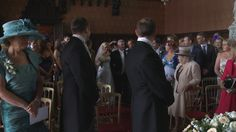 Jenna and Paul were married in front of friends and family at the gothic Scarisbrick Hall, Ormskirk. I love this moment when Paul turns round to see his beautiful Bride, Jenna, coming down the aisle. Wedding ceremonies are always emotional but it's extra special when we are able to film it and capture lovely moments like this