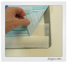 """Don't you hate it when the fabric doesn't fit in the hoop? Recently, I was stitching a faced scallop border on my embroidery machine and the fabric was about 3"""" too short to fit in the hoop. I find..."""