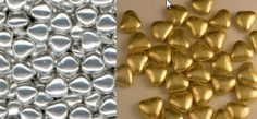 Mini Chocolate Hearts - Candy Metallic Coat