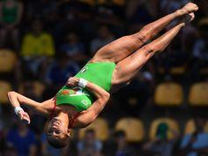 Paola Espinosa (MEX) during the women's platform Paola Espinosa, Summer Games, Rio 2016, Summer 2016, Olympics, Platform, Bronze, Sports, Silver