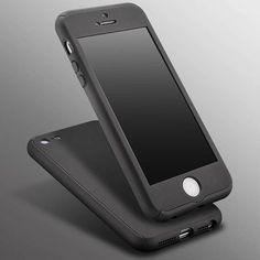 Newest Coverage of 360 Degree Case For iPhone 5 5S SE 5G Hard PC Plating Cover For iPhone SE Luxury Armor Case + Glass Film