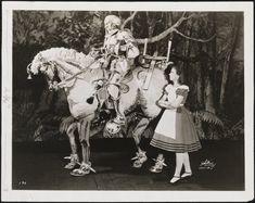 [Howard Da Silva as the White Knight and Josephine Hutchinson as