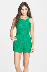 Birthday? - Adelyn Rae Embroidered Lace Romper