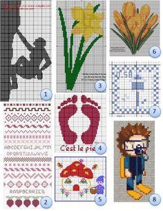 Free cross-stitch charts · Needlework News   CraftGossip.com