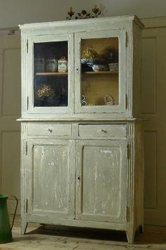 アンティーク 食器棚
