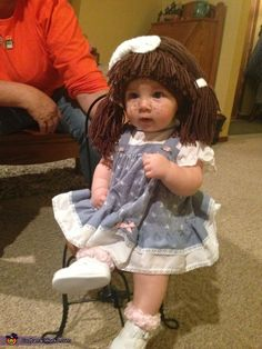 cabbage patch doll costume - Cabbage Patch Halloween Costume For Baby
