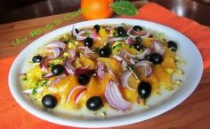 Insalata di arance siciliana   Una Riccia in Cucina