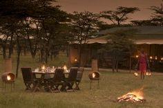 A classic luxury safari camp in Kenya (credit Kicheche Bush Camp)  http://www.african-wildlife-safari.com/kenya-wildlife-safaris/
