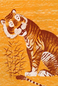 Half-As-Big and the Tiger - written by Bernice Frankel, illustrated by Leonard Weisgard (1961).