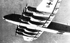 The Junkers Ju 390 was a German aircraft intended to be used as a heavy transport, maritime patrol aircraft, and long-range bomber, a long-range derivative of the Ju 290. It was one of the aircraft (along with the Messerschmitt Me 264 and Focke-Wulf Ta 400) submitted for the abortive Amerika Bomber project.
