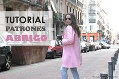 DIY: Tutorial y patrones para hacer un abrigo de mujer | Manualidades