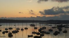 #sunrise #sunset #boats #harbour #water #sea #sun #sky #clouds #contrast #silhouette #falmouth #cornwall #calm #peaceful #tranquil # quiet #beautiful #gorgeous #amazing