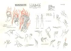 """""""Model Sheets from Hercules by Nik Ranieri """""""