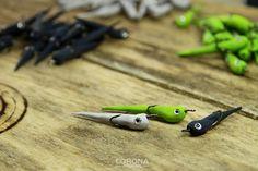 Paralonka mini na okonia #wędkarstwo #przynęty #handmade Fishing, Corona, Peaches, Pisces, Gone Fishing