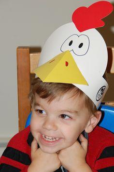 chicken costume …