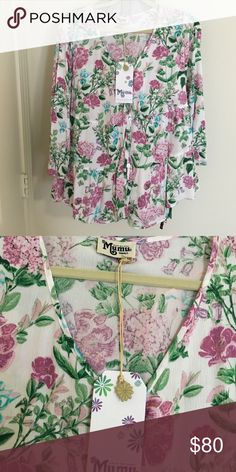 NWT Show me you're mumu top NWT never worn! Size small Show Me Your MuMu Tops Blouses