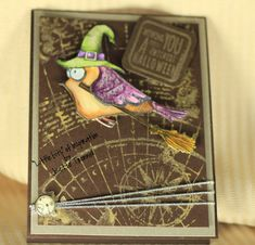 I have not posted just for me in forever. I am not a fan of Halloween as a holiday for a very personal reason, but I love Halloween Cards. ...
