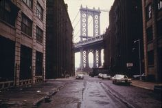 IlPost - Il ponte di Manhattan, 1974 (Danny Lyon / NARA) - Il ponte di Manhattan, 1974 (Danny Lyon / NARA)