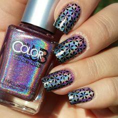 Color Club Miss Bliss, Beyond ; IG plate 102 ; ~ 8/7/15 ; de.lish.ious.nails