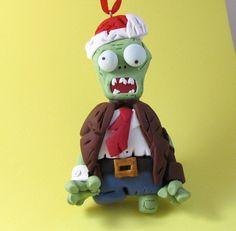 Zombie Holidays: Homer Simpson Xmas Zombie