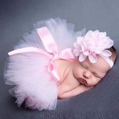 New Soft Newborn Baby Girl Clothes Skirt Set Newborn Baby Photography Props Baby tutu Baby Cap Hat Clothing For boys/girls - Kid Shop Global - Kids & Baby Shop Online - baby & kids clothing, toys for baby & kid