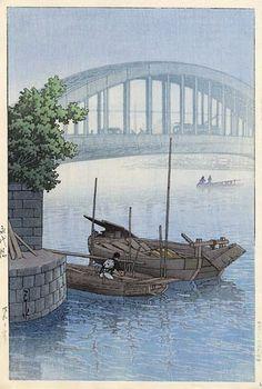 1937 - Hasui, Kawase - Eitai Bridge