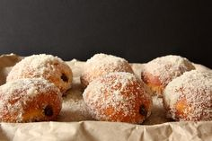 Chocolate Cream Filled Vanilla Sugar Doughnuts