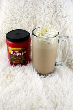 DIY Coffee Milkshake || Southeast by Midwest #ad #CoffeehouseBlend #Folgers #Publix