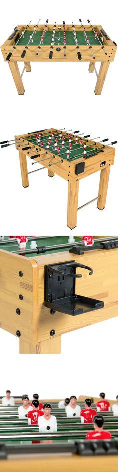 Foosball 36276: 48 Foosball Table Competition Sized Soccer Arcade Game Room  Football Sports  U003e