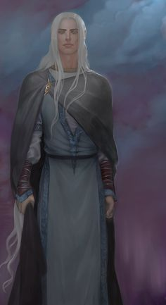 Edenl, twin of Finwë, captured and taken to Utumno. (Magnificat of the Damned III) Commission from Insant http://insant.deviantart.com/ #Elves