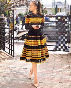 """8,285 Likes, 63 Comments - Moda Operandi (@modaoperandi) on Instagram: """"Swipe right for @christoscostarellos 💕 Click link in bio to PreO the epic #midi dress with yellow…"""""""