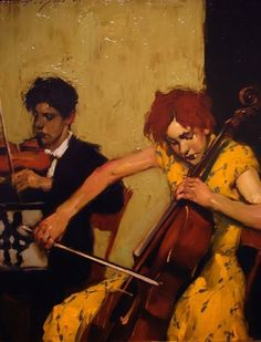 ♪ The Musical Arts ♪ music musician paintings - Malcolm Liepke